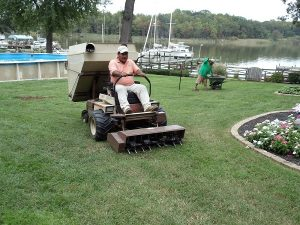 Harford County Lawn Aeration, Baltimore County Overseeding