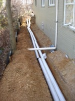 Drainage - During